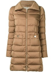 Herno Padded Coat Nude Neutrals
