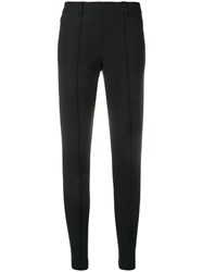 Cambio Straight Trousers Black