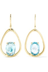 Ippolita Rock Candy 18 Karat Gold Topaz Earrings One Size