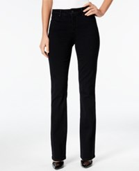 Nydj Billie Bootcut Jeans Black