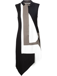 Jean Pierre Braganza Jean Pierre Braganza 'Tiger' Dress Black