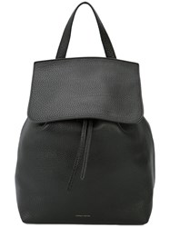 Mansur Gavriel Drawstring Backpack Women Leather One Size Black