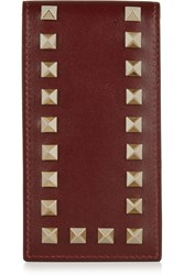 Valentino Iphone Leather Case Red