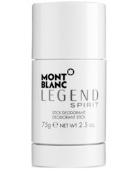 Montblanc Legend Spirit Deodorant 2.5 Oz Only At Macy's