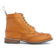 Knutsford By Tricker's Women's Stephy Leather Lace Up Boots Acorn Tan