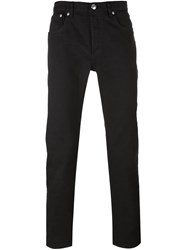 A.P.C. 'Petite' Regular Trousers Black
