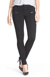 Women's Sanctuary 'Ace Utility' Stretch Skinny Pants Black
