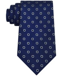 Club Room Men's Margarita Neat Tie Only At Macy's Blue