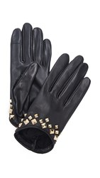 Agnelle Josiepyramide Texting Gloves Black