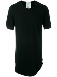 Lost And Found Rooms Layered T Shirt Black