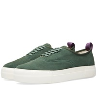 Eytys Mother Suede Sneaker Green