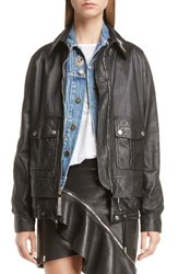 Saint Laurent Women's Embellished Lambskin Leather Jacket