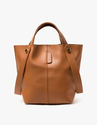 Gabi Shoulder Bag In Tan