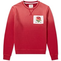 Kent And Curwen 1926 Crew Sweat Red