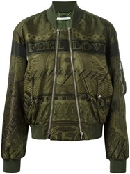 Givenchy Puffer Jacket Green