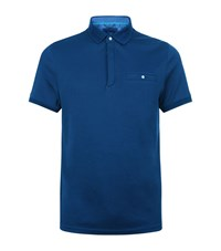 Ted Baker Clay Polo Shirt Male Blue