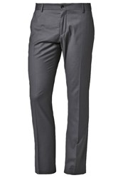 Selected Homme One Mylo Logan Suit Trousers Grey