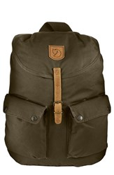 Fjall Raven Men's Fjallraven 'Greenland' Backpack Green Dark Olive