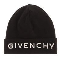 Givenchy Cotton And Cashmere Hat Black