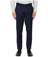 The Kooples Fitted Suit Trousers Blue Men's Casual Pants