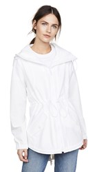 Cushnie Et Ochs Ophilie Hooded Jacket White