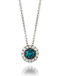 Le Vian 0.28Tcw Diamonds And 14K White Gold Exotics Pendant Necklace