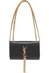 Saint Laurent Monogramme Kate Small Leather Shoulder Bag Black