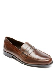 Rockport Classic Lite Leather Penny Loafers Cognac