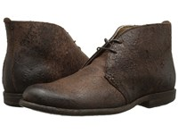 Frye Phillip Chukka Brown Distressed Suede Men's Lace Up Boots