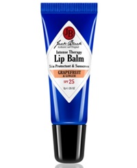 Jack Black Intense Therapy Lip Balm Spf 25 With Grapefruit And Ginger 0.25 Oz
