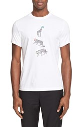 Paul Smith Men's Ps Animal Print T Shirt