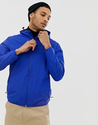 Selected Homme Technical Seam Sealed Jacket Blue