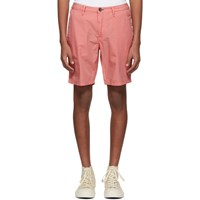 Paul Smith Ps By Pink Cotton Shorts