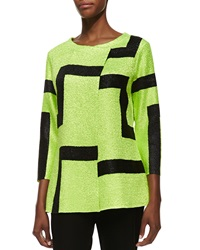 Berek 3 4 Sleeve Abstract Modern Jacket Women's