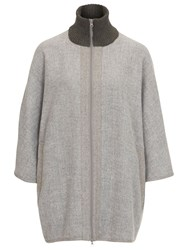 Betty Barclay Kimono Coat Grey