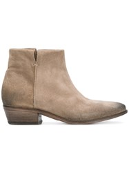 Strategia Ankle Boots Women Leather Suede 38.5 Nude Neutrals
