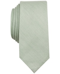 Penguin Zion Solid Skinny Tie Lime