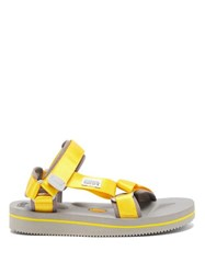 Suicoke Depa V2 Technical Sandals Yellow