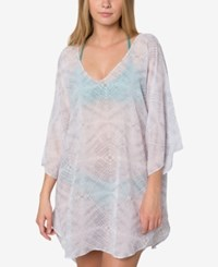 O'neill Bevie Printed Tunic Cover Up Women's Swimsuit Grey