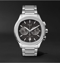 Piaget Polo S Chronograph 42Mm Stainless Steel Watch Black