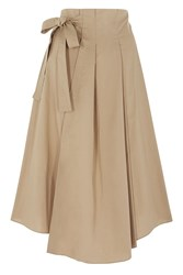 Coast Trista Midi Skirt Tan