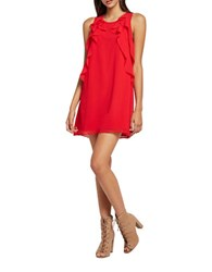 Bcbgeneration Sleeveless Tent Dress Red