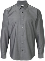 Cerruti 1881 Formal Suit Shirt Cotton Grey