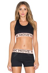 Minkpink Time To Move Crop Top Black