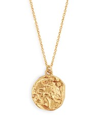 Alighieri Leo Gold Plated Necklace