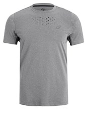Asics Stride Sports Shirt Dark Grey Heather