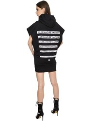 Alexandre Vauthier Sleeveless Printed Cotton Sweatshirt