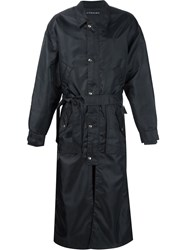 Y Project Long Trench Coat Black