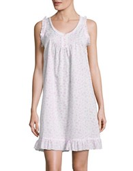 Miss Elaine Floral Printed Night Gown Daisy