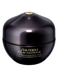 Shiseido Total Regenerating Body Cream No Color